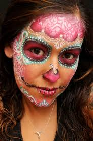 the 25 best sugar skull halloween makeup ideas on pinterest