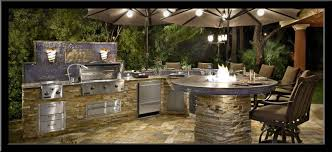 Backyard Bbq Bar Designs Latest This Outdoor Kitchen Includes A - Backyard bbq design