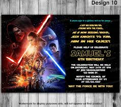 star wars party invitations party invitations templates