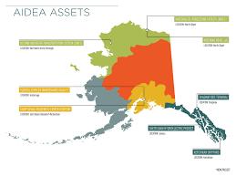 Ketchikan Alaska Map by Aidea Projects