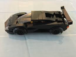 lamborghini lego moc some vehicles lego town eurobricks forums