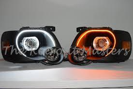 Ford Explorer Headlights - 2006 2010 ford explorer sport trac headlight retrofits the
