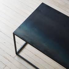 Steel Coffee Table Blackened Steel Coffee Table On Food52