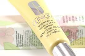 yellow primer clinique superprimer face primer colour corrects redness review