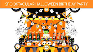 halloween themed birthday party easy kid friendly halloween party