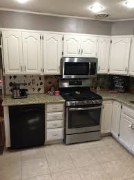 Painted Off White Kitchen Cabinets Kitchen Cabinet Painting In King Of Prussia Laffco Painting