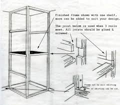 A Frame Designs by How To Build A Basic Cupboard Timber Frames For Storage Units
