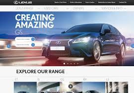 lexus gs250 singapore review lexus launch new website across europe the drum