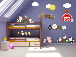 Farm Animal Nursery Decor Room Wall Decals Farm Wall Decals Farm Animal Decals