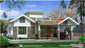 single home designs exciting single floor house plans india 35