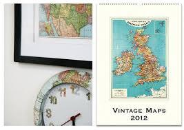 cavallini calendars decorate with maps ideas how skimbaco lifestyle online magazine