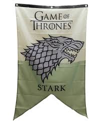 game of thrones house stark sigil licensed nwt banner tapestry