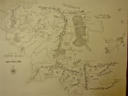 Map Middle Earth I Finally Finished My Hand Drawn Map Of Middle Earth I U0027ve Been
