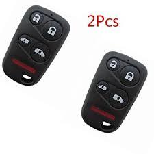 2004 honda odyssey key amazon com 2pcs keyless entry 5 buttons smart remote key fob