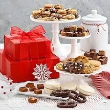 christmas cookie gifts christmas cookie gift baskets cookie tins delivery mrs fields