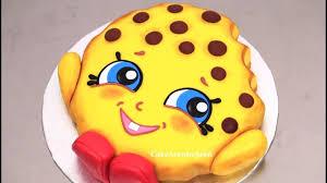 photo cakes how to make shopkins cake kookie cookie by cakes stepbystep