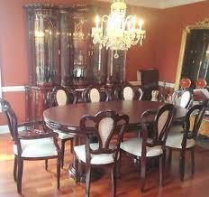 Mahogany Dining Room Set EBay - Mahogany dining room set