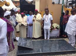 thanksgiving mass held for late madam obiano bishop isizor