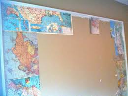 Paper Maps Rosa Beltran Design Diy Giant Wall Mural