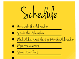 keep kitchen clean create your own kitchen cleaning schedule kitchen chatters