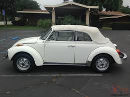 original volkswagen beetle california rust free vw beetle convertible 79 000 original miles