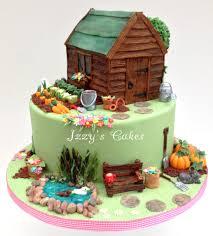 interior design amazing garden themed cake decorations home