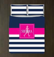 Girls Striped Bedding by Custom Running Themed Bedding For Girls Stripes U2013 Shop Wunderkinds
