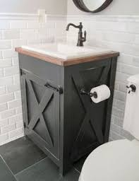 cheap bathroom vanity ideas i needed a cheap solution for the vanity top in our bathroom and