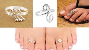 about toe rings images Silver toe rings designs 2018 jpg