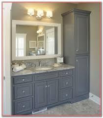 bathroom vanity and linen cabinet combo bathroom vanity and linen cabinet cabinet home decorating ideas