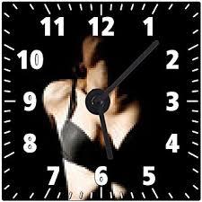 femme nue cuisine horloge murale femme nue de corps érotique amazon fr