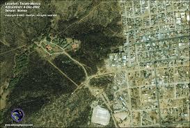 Tecate Mexico Map by Ikonos Satellite Image Of Tecate Mexico Satellite Imaging Corp