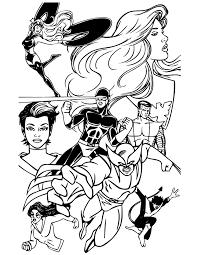 men team superhero printable coloring pages men printable