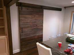 Wooden Barn Door by Sliding Barn Doors Reclaimed Wood Crafts