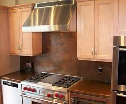 Copper Backsplash From The Metal Peddler Handcrafted In USA - Copper backsplash