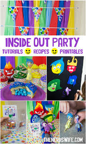inside out party disney inside out party ideas ads and birthdays