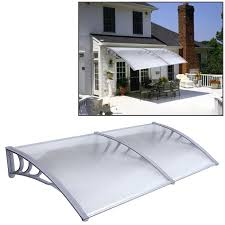 Absco Awning Outdoor Awnings Bunnings Smart Home Products 240 X 240cm Clear