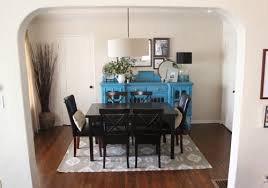 beautiful looking rugs under dining table all dining room