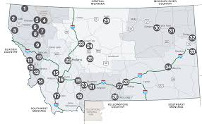 Missoula Montana Map by Breweries