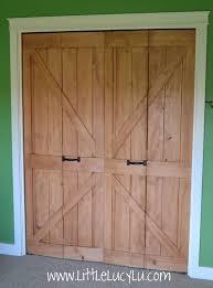 Mirrored Barn Door by Closet Doors That Look Like Barn Doors Thesecretconsul Com