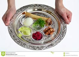pesach seder plate passover seder plate stock image image of belief festivals