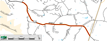 Garden State Parkway Map by Gainesville Hall Mpo Ga Official Website