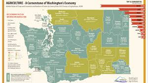 State Of Washington Map by Agriculture A Cornerstone Of Washington U0027s Economy Full Site In