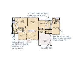 dual master bedroom floor plans ridgewood dual master suite house plan schumacher homes