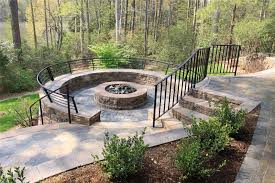 Backyard Landscaping With Fire Pit - fire pit williamsburg va photo gallery landscaping network