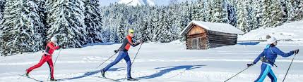 cross country skiing in seefeld in tyrol