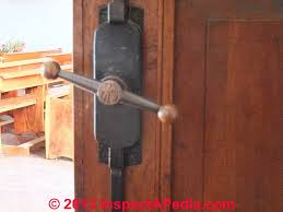 Vintage Interior Door Hardware Door Age Door Locks Knobs Hinges Hardware As Indicators Of