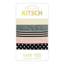 kitsch hair ties bonbon hair ties by kitsch