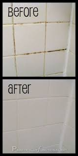Clean Bathroom Showers Awesome How To Naturally Clean Grout And Tiles Intended For