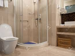 bathroom detail with toilet basin mirror and shower room youngor